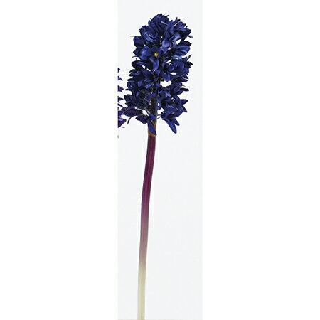 【造花】アスカ/ヒヤシンス ダ−クブル−/A-32853-009D【01】【取寄】《 造花(アーティフィシャルフラワー) 造花 花材「は行」 ヒヤシンス 》