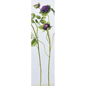 【造花】アスカ/クレマチス×3 パ−プル/A-32726-007【01】【01】【取寄】《 造花(アーティフィシャルフラワー) 造花 花材「か行」 クレマチス 》