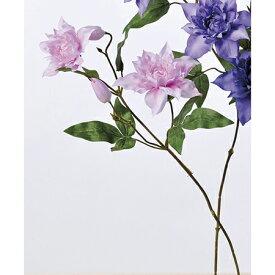 【造花】アスカ/クレマチス×2 つぼみ×2 ピンク/A-32820-003【01】【01】【取寄】《 造花(アーティフィシャルフラワー) 造花 花材「か行」 クレマチス 》