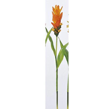 【造花】アスカ/グズマニア オレンジ/A-32765-030【01】【取寄】《 造花(アーティフィシャルフラワー) 造花 花材「か行」 グズマニア 》