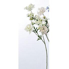 【造花】アスカ/クイーンアンズレース ホワイト/A-32805-001【01】【01】【取寄】《 造花(アーティフィシャルフラワー) 造花 花材「あ行」 アマリリス 》