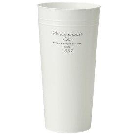 GREENHOUSE/ナチュラルフレンチブリキ 花筒M /3742-A【01】【01】【取寄】《 ガーデニング用品 ツール(道具) バケツ・タライ 》
