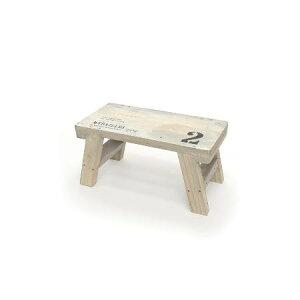 azi-azi/ウッドミニテーブル(ホワイト) /AZ-1134【01】【取寄】ガーデニング用品 ガーデン家具 テーブル・チェア 手作り 材料