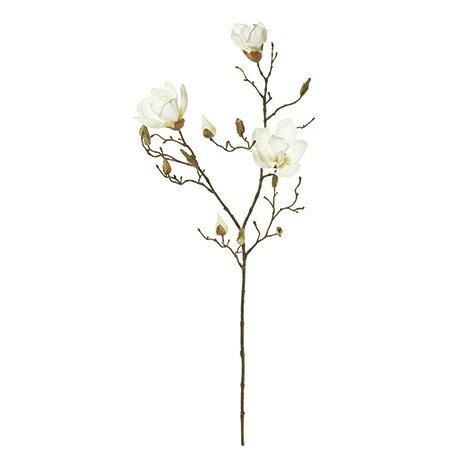 【造花】MAGIQ(東京堂)/マグノリアセシリア #1 CREAM /FM003340-001【01】【取寄】《 造花(アーティフィシャルフラワー) 造花 花材「ま行」 モクレン(木蓮)・マグノリア 》
