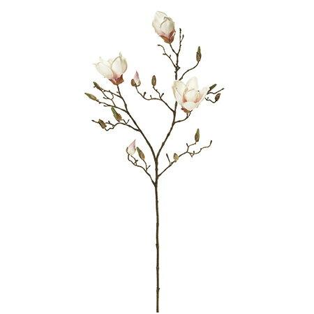 【造花】MAGIQ(東京堂)/マグノリアセシリア #48 CR/PK /FM003340-048【01】【01】【取寄】《 造花(アーティフィシャルフラワー) 造花 花材「ま行」 モクレン(木蓮)・マグノリア 》