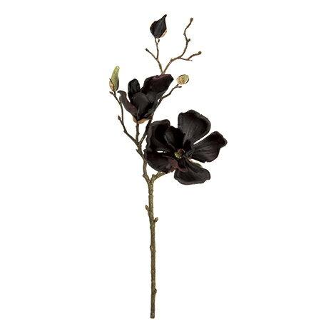 【造花】MAGIQ(東京堂)/マグノリアミディ #20 BLACK /FM003336-020【01】【01】【取寄】《 造花(アーティフィシャルフラワー) 造花 花材「ま行」 モクレン(木蓮)・マグノリア 》
