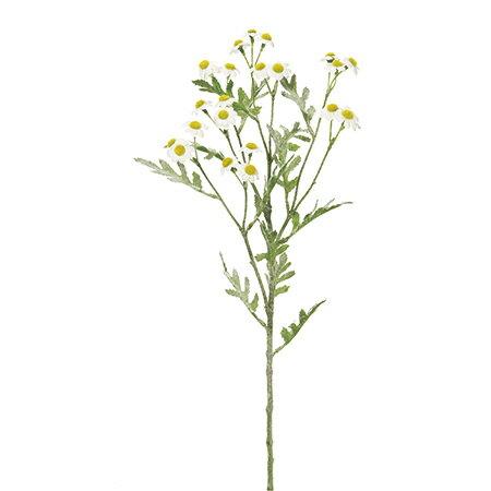 即日 【造花】MAGIQ(東京堂)/シャンテカモミール WHITE /FM007154《 造花(アーティフィシャルフラワー) 造花葉物、フェイクグリーン ハーブ 》