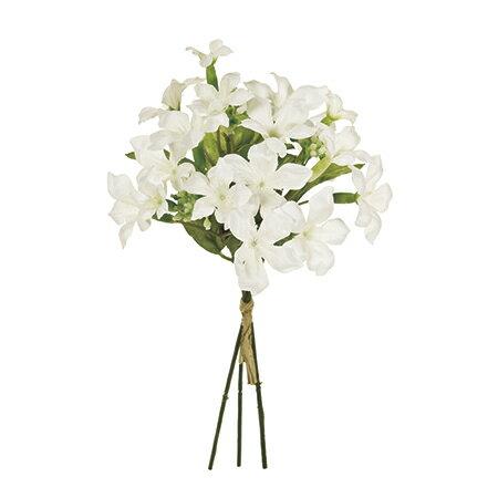 【造花】MAGIQ(東京堂)/スイートステファノピック #1 WHITE 3本/FM009924-001《 造花(アーティフィシャルフラワー) 造花 花材「さ行」 ジャスミン 》