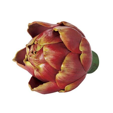 【造花】東京堂/アーティチョークS #7 BURGUNDY /FV004000-007【01】【取寄】《 造花(アーティフィシャルフラワー) 造花実物、フェイクフルーツ フルーツ、ベジタブル 》
