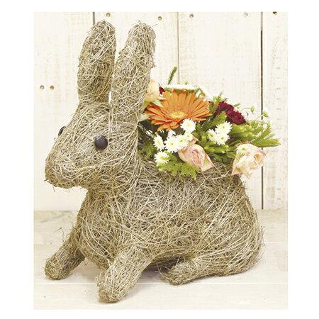 LittleGarden/ラパンバスケット/ux1049【01】【取寄】[3個]《 花器、リース 花器・花瓶 バスケット(花かご) 》