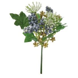 即日 【造花】YDM/アキレアベリーミックスピック ブルー/FB2442-BLU《 造花(アーティフィシャルフラワー) 造花 花材「あ行」 アキレア 》