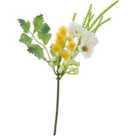 即日 【造花】YDM/ミモザミックスピック イエローグリーン/FB2433-YGR《 造花(アーティフィシャルフラワー) 造花 花材「ら行」 ラベンダー 》