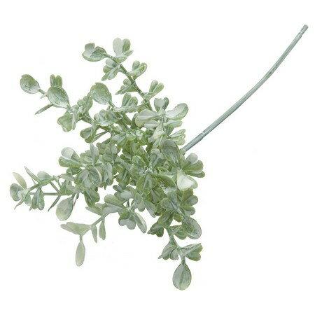 即日★【造花】YDM/ボックスウッドピック ホワイトグリーン/FG4615-W/G【00】《造花(アーティフィシャルフラワー) 造花葉物 ボックスウッド》