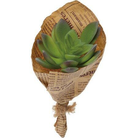 【人工観葉植物】YDM/ミニエケベリアブーケ グリーン/GLA1291-GR【01】【取寄】《 造花(人工観葉植物) 人工観葉植物「か行」 カジュアルポット 》