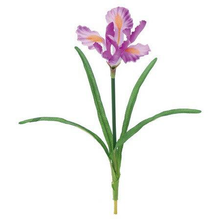 【造花】YDM/ミニアヤメ ライトラベンダー/FS7798-L/L【01】【01】【取寄】《 造花(アーティフィシャルフラワー) 造花 花材「あ行」 アヤメ・アイリス 》