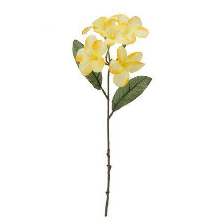 即日 【造花】YDM/プルメリア イエロー/FS8230-Y《 造花(アーティフィシャルフラワー) 造花 花材「は行」 プルメリア 》