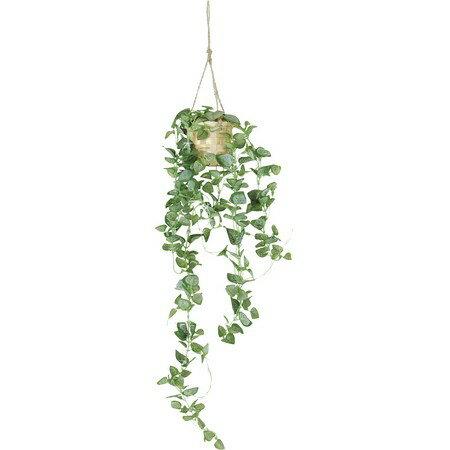 【造花】YDM/ベビーハートリーフハンギング(poppy-GLA1104)【01】【取寄】《 造花(アーティフィシャルフラワー) 造花葉物、フェイクグリーン その他の造花葉物・フェイクグリーン 》