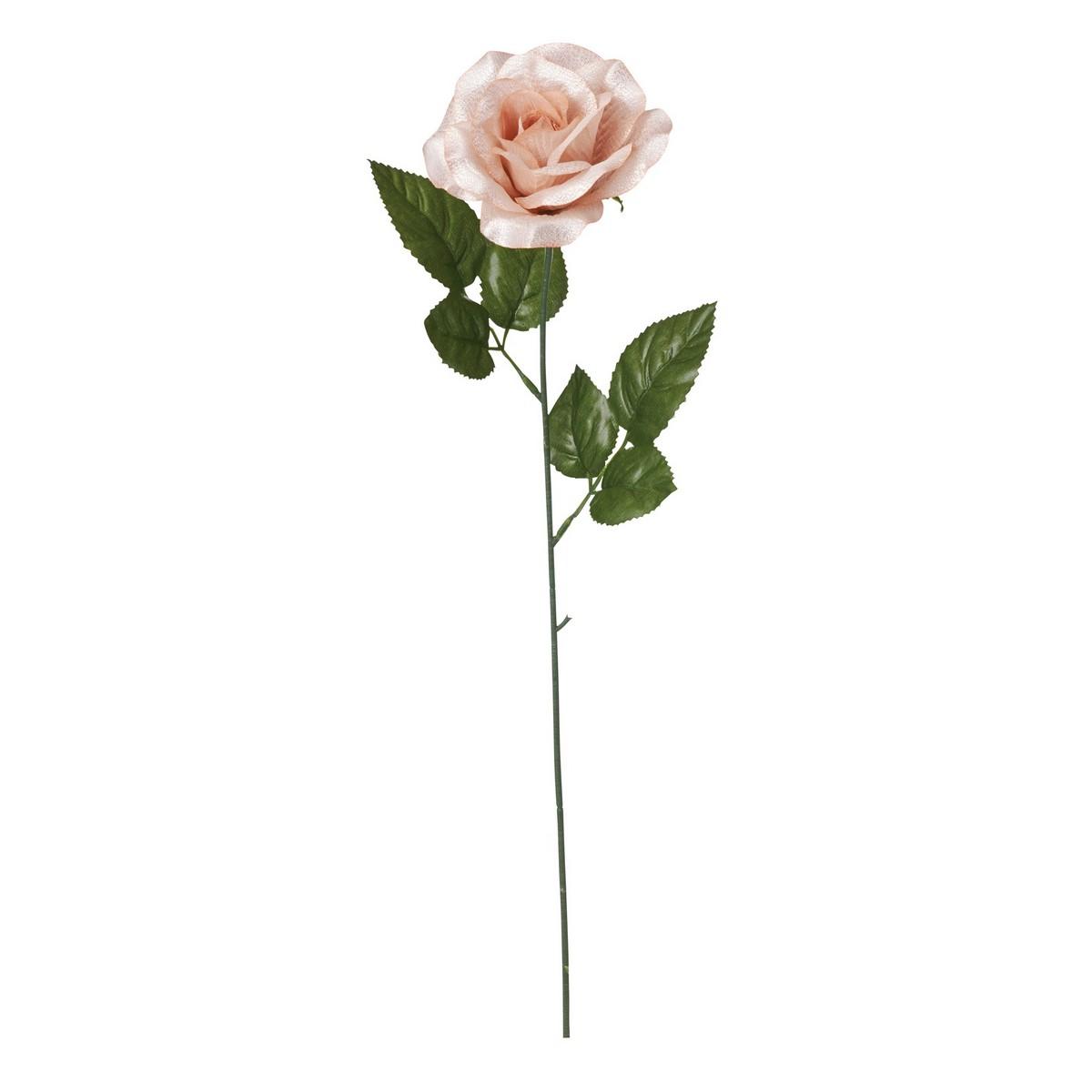 即日★【造花】YDM/シャイニーローズシングル ゴールド/FS -6961-GO|造花 バラ【00】《 造花(アーティフィシャルフラワー) 造花 花材「は行」 バラ 》