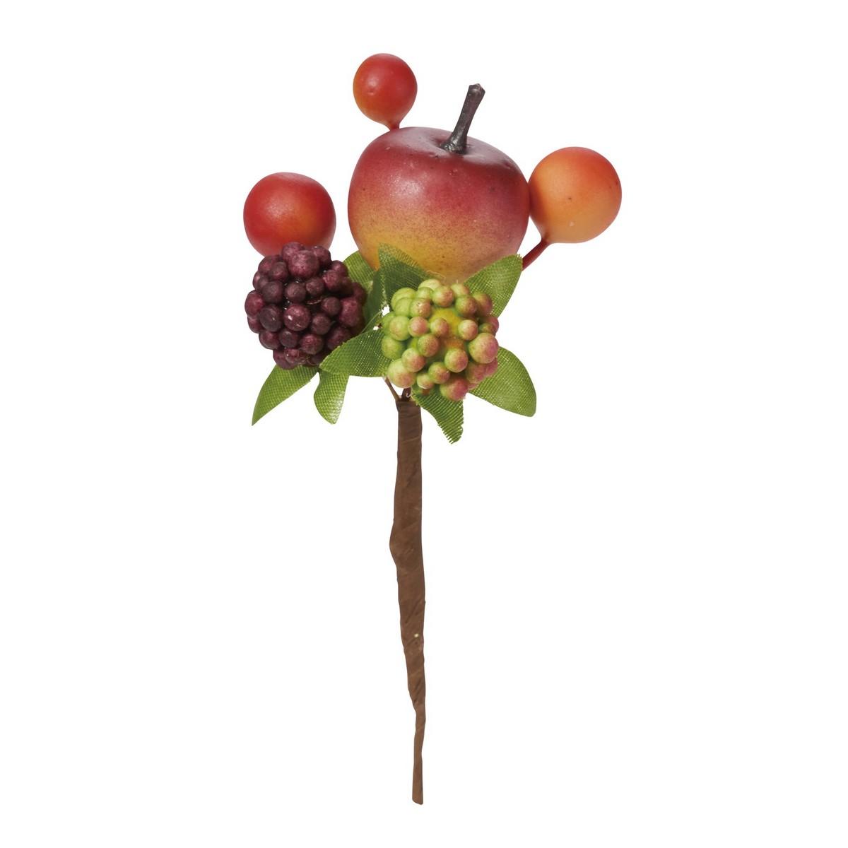 【造花】YDM/ミックスベリーピック /HW -1309【01】【取寄】《 造花(アーティフィシャルフラワー) 造花実物、フェイクフルーツ ベリー 》