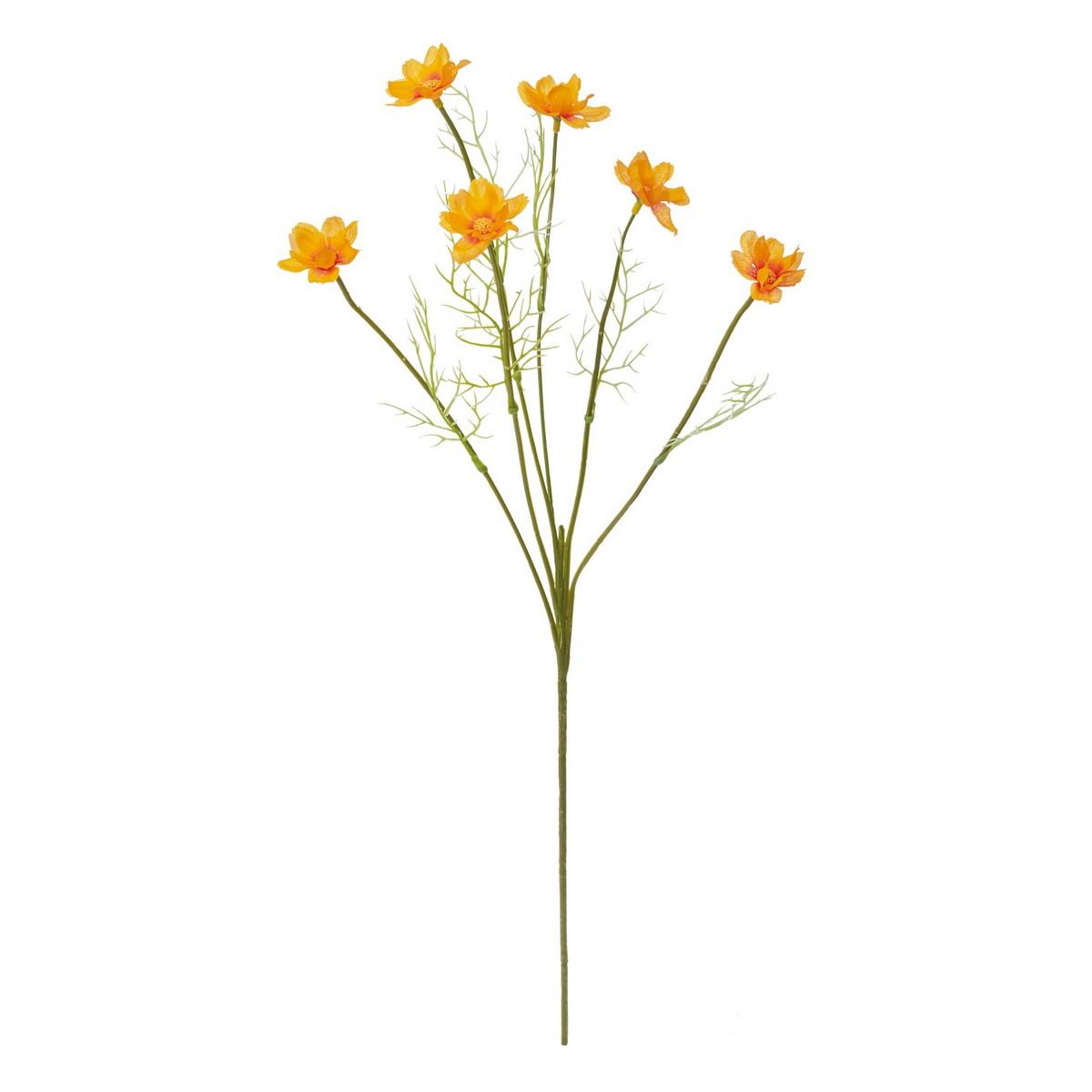 【造花】YDM/キバナコスモス オレンジ/FS -9984-OR【01】【01】【取寄】《 造花(アーティフィシャルフラワー) 造花 花材「か行」 コスモス 》