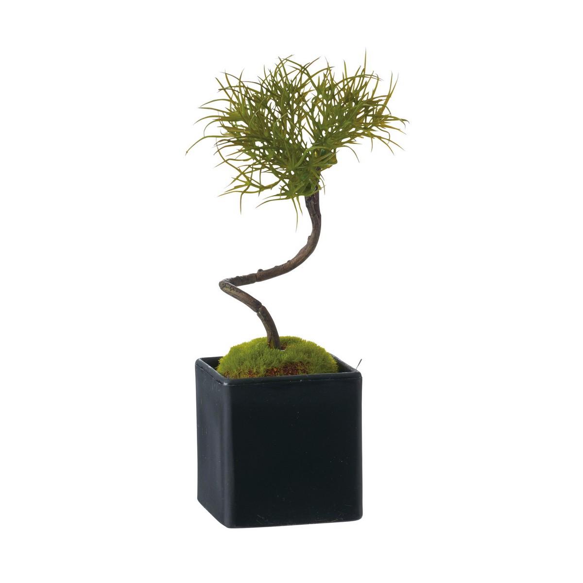 【造花】YDM/松盆栽 グリーン/GLA -1352-GR【01】【取寄】《 造花(アーティフィシャルフラワー) 造花枝物 松、竹 》