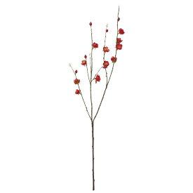 【造花】YDM/ウメ レッド/FS -5175-R【01】【01】【取寄】《 造花(アーティフィシャルフラワー) 造花 花材「あ行」 ウメ(梅) 》