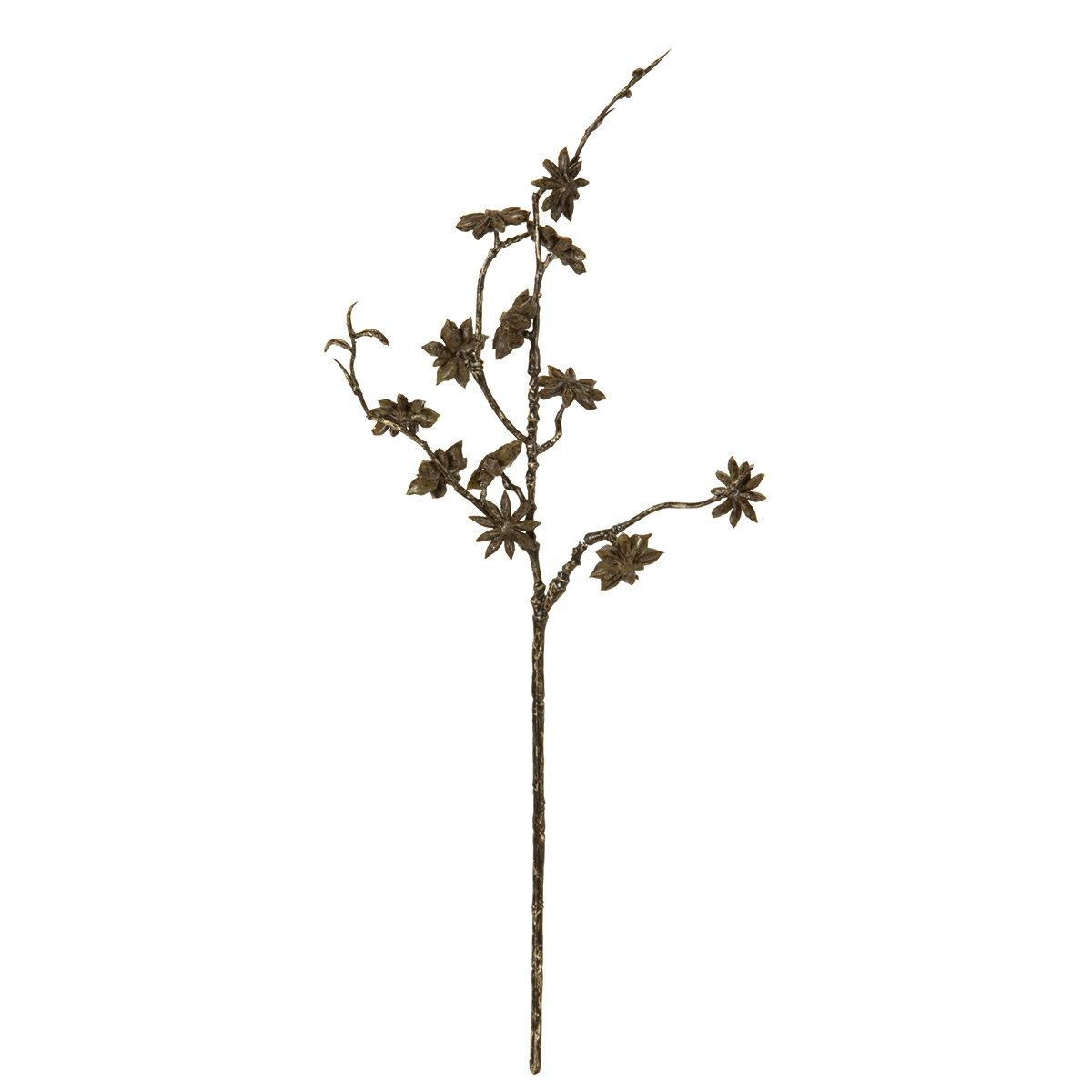 【造花】MAGIQ(東京堂)/スターアニススプレー DK.BR /FM006674【01】【取寄】《 造花(アーティフィシャルフラワー) 造花枝物 その他の造花枝物 》