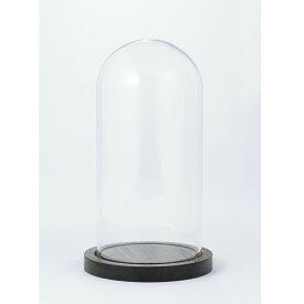 即日 東京堂/ガラスドーム&ウッドM /GG510209《 花器、リース 花器・花瓶 ガラス花器 》
