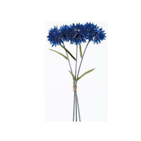 【造花】アスカ/コーンフラワーバンチ (1束3本) ダ-クブル-/A-32581-009D【01】【取寄】《造花(アーティフィシャルフラワー) 造花 「か行」 コーンフラワー》