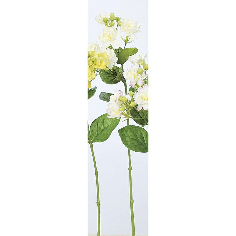 即日 【造花】アスカ/ジャスミン×6 ツボミ×10 クリ-ムホワイト/A-32965-11《 造花(アーティフィシャルフラワー) 造花 花材「さ行」 ジャスミン 》
