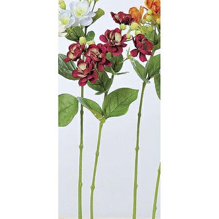 【造花】アスカ/ジャスミン×6 ツボミ×10 フッシャ/A-32965-26【01】【01】【取寄】《 造花(アーティフィシャルフラワー) 造花 花材「さ行」 ジャスミン 》
