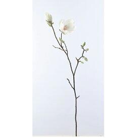 【造花】アスカ/マグノリア×1 ツボミ×10 ホワイト/A-32917-1【01】【取寄】