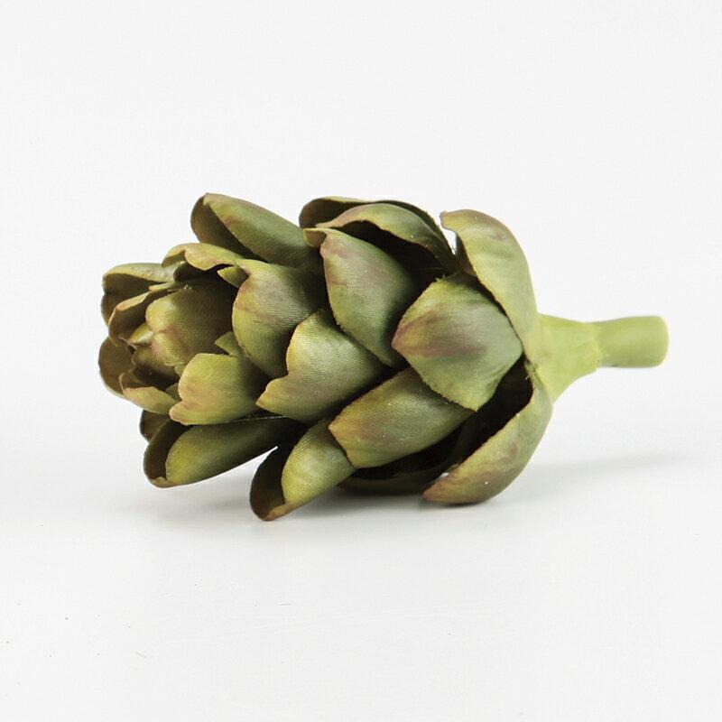 【造花】アスカ/アーティチョーク グリ-ン/A-20379-051A【01】【取寄】《 造花(アーティフィシャルフラワー) 造花実物、フェイクフルーツ フルーツ、ベジタブル 》