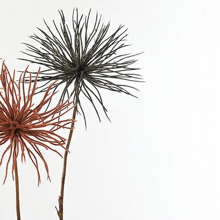 即日★【造花】アスカ/アリウム ブラック/AX68561-100【00】《 造花(アーティフィシャルフラワー) 造花 花材「あ行」 アリウム 》