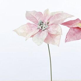 【造花】アスカ/ポインセチア ピンク/AX68591-3【01】【取寄】