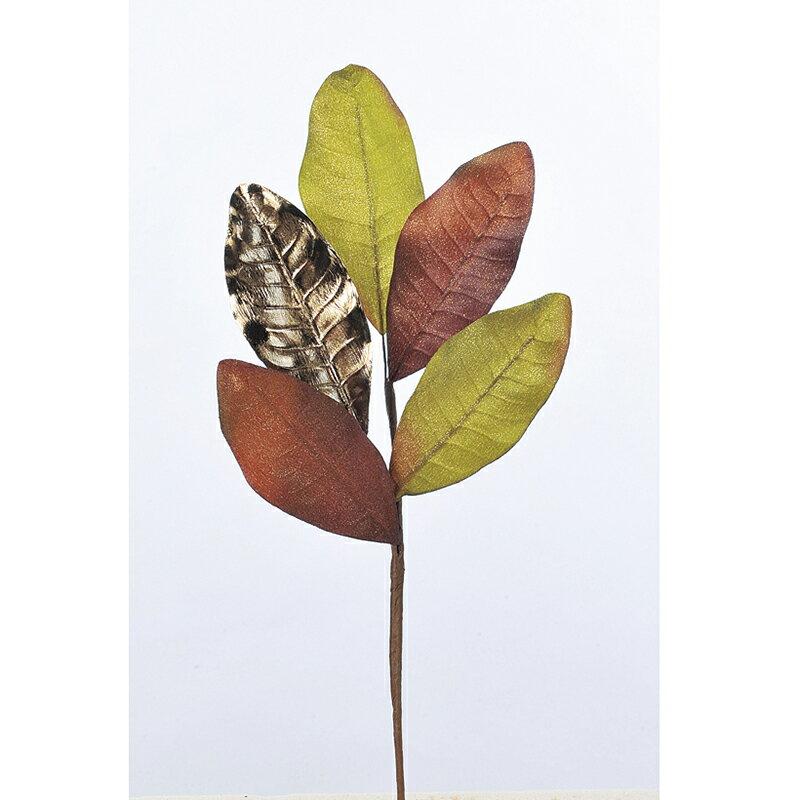【造花】アスカ/マグノリアリーフピック /AX68567-0【01】【01】【取寄】《 造花(アーティフィシャルフラワー) 造花 花材「ま行」 モクレン(木蓮)・マグノリア 》