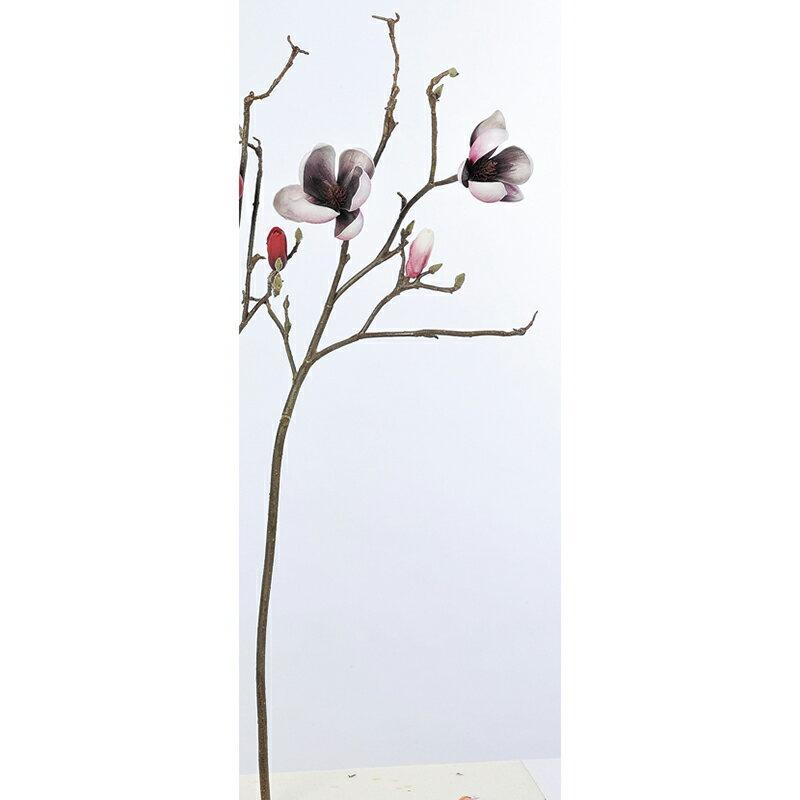 【造花】アスカ/マグノリア×2 ツボミ×6 モ-ブ/A-32911-55【01】【取寄】《 造花(アーティフィシャルフラワー) 造花 花材「ま行」 モクレン(木蓮)・マグノリア 》