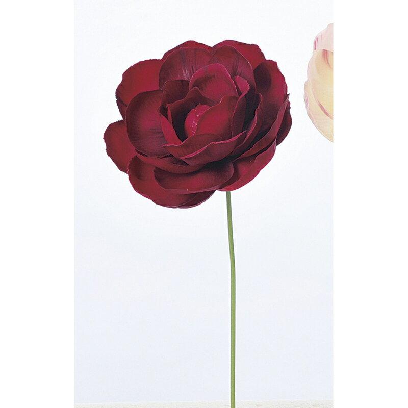 即日 【造花】アスカ/椿ピック レッド/A-73271-2《 造花(アーティフィシャルフラワー) 造花 花材「た行」 ツバキ(椿) 》