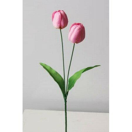 即日★【造花】YDM/チューリップ ピンク/FS-7834P《 造花(アーティフィシャルフラワー) 造花 花材「た行」 チューリップ 》
