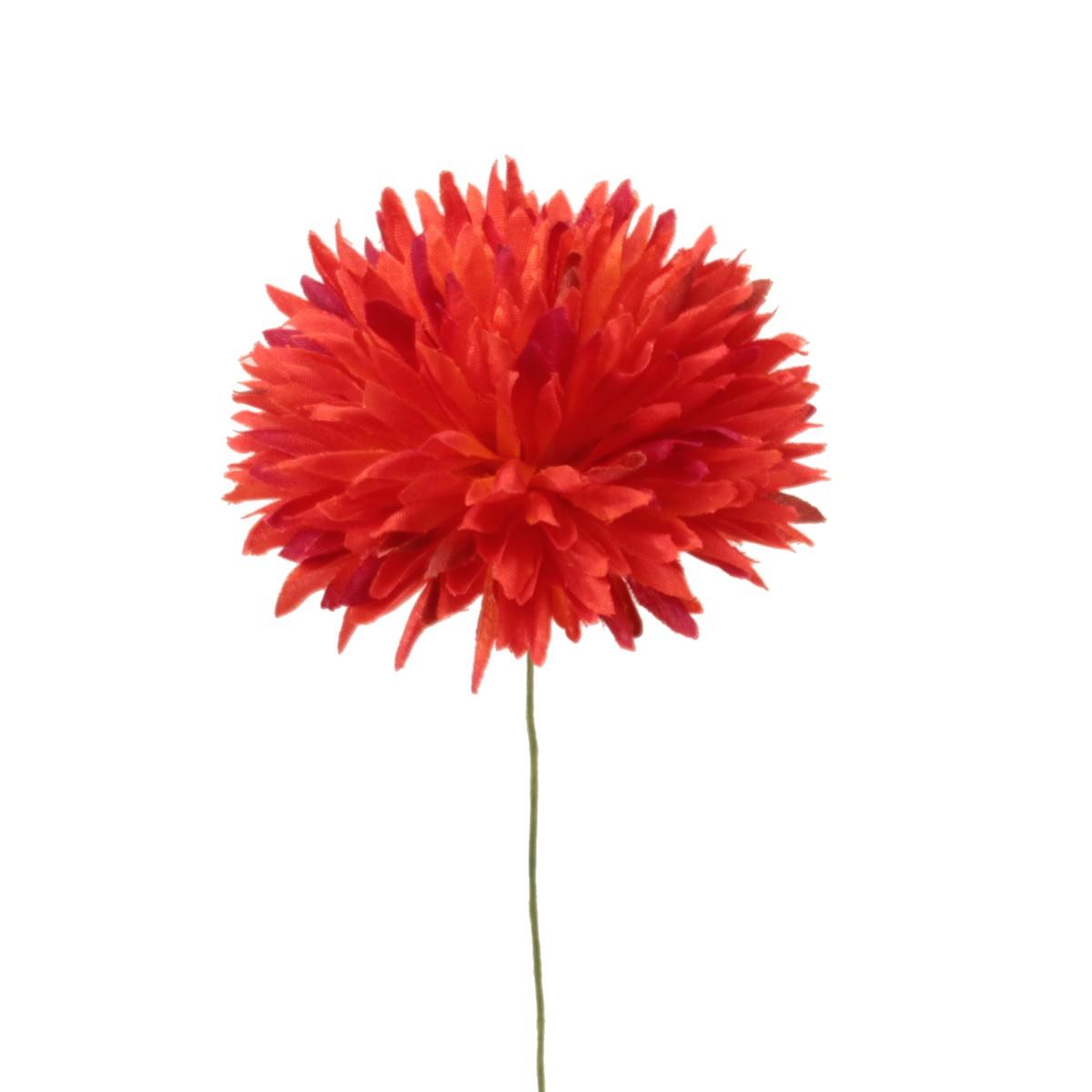 即日★【造花】パレ/ミニアリウムピック オレンジ 4本/P-8400-25【00】《 造花(アーティフィシャルフラワー) 造花 花材「あ行」 アリウム 》