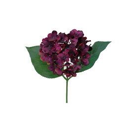 【造花】パレ/ハイドランジアピック プラム/P-8284-80|造花 バラ【01】【取寄】[12本]《 造花(アーティフィシャルフラワー) 造花 花材「は行」 バラ 》