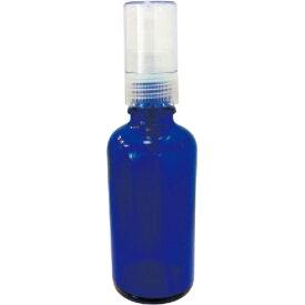 生活の木/青色ガラススプレー50mL /13-691-4260【01】【取寄】《 キャンドル スキンケア ハンドメイド用容器、道具 》