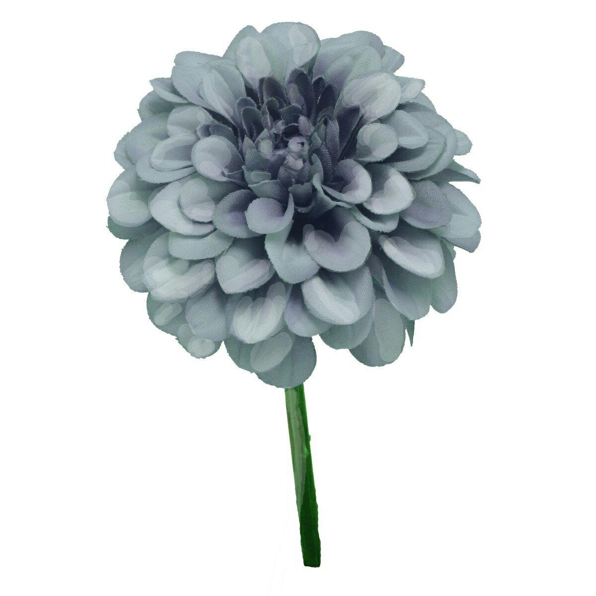 即日 【造花】パレ/ジニアピック ブルー/P-8161-90《 造花(アーティフィシャルフラワー) 造花 花材「さ行」 ジニア 》