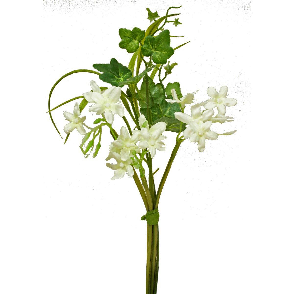 即日 【造花】パレ/ジャスミンブーケ /P-8085《 造花(アーティフィシャルフラワー) 造花 花材「さ行」 ジャスミン 》