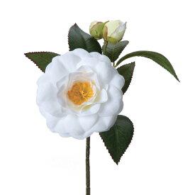 【造花】パレ/椿 ホワイト/P-2020-10【01】【取寄】
