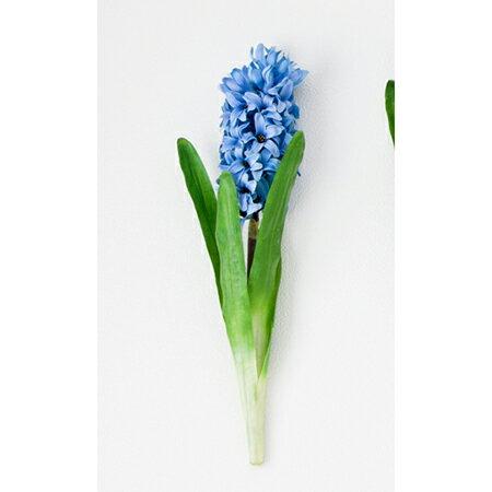 【造花】ボブクラフト/Hyacinthus ヒアシンス/15003B【01】【取寄】[3本]《 造花(アーティフィシャルフラワー) 造花 花材「は行」 ヒヤシンス 》