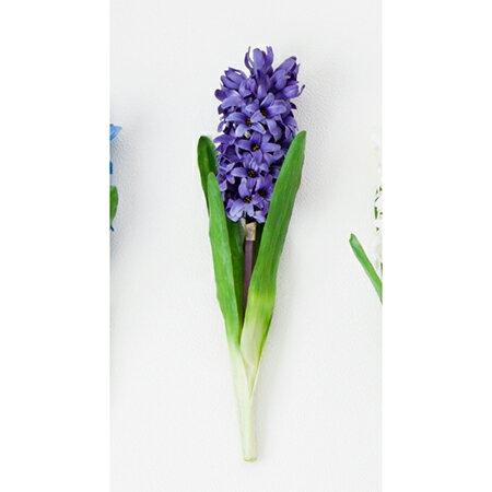 【造花】ボブクラフト/Hyacinthus ヒアシンス/15003V【01】【取寄】[3本]《 造花(アーティフィシャルフラワー) 造花 花材「は行」 ヒヤシンス 》