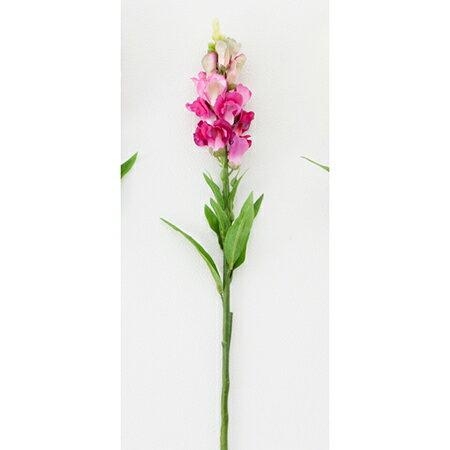 【造花】ボブクラフト/Snapdragon キンギョソウ/15002DP【01】【取寄】[3本]《 造花(アーティフィシャルフラワー) 造花 花材「さ行」 スナップ・金魚草 》