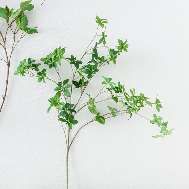 即日★【造花】ボブクラフト/Leaf branch どうだん/15017《 造花(アーティフィシャルフラワー) 造花枝物 ドウダンツツジ 》