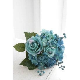 【造花】COVENT/ブルーローズ・ブーケ /TT-13|造花 バラ【07】【07】【取寄】[4個]《 造花(アーティフィシャルフラワー) 造花 花材「は行」 バラ 》